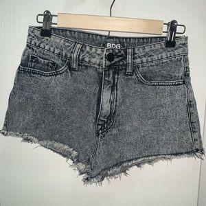 BDG Denim Urban Outfitters High Rise Cheeky Shorts
